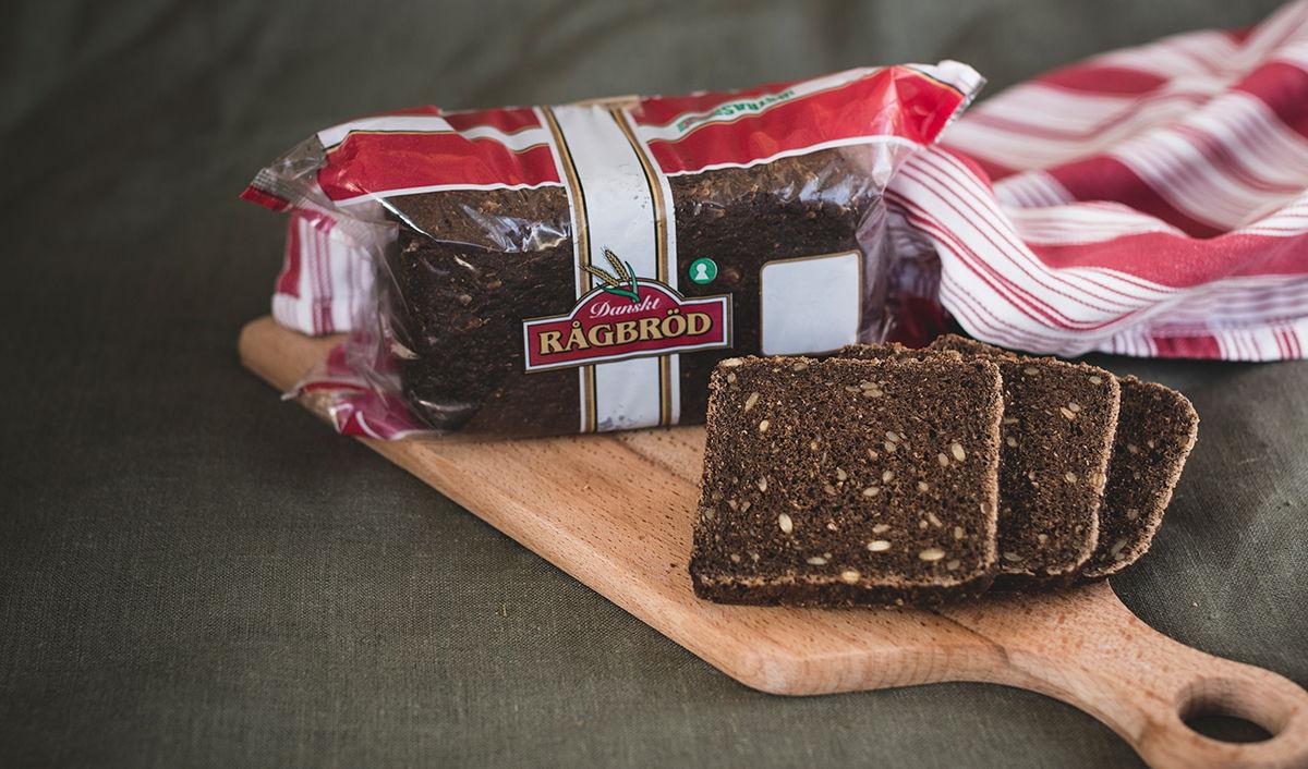 danskt rågbröd kcal